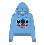 Lilo & Stitch Ladies Hooded Sweater Stitch Face
