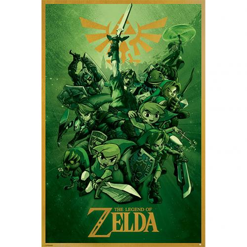 The Legend Of Zelda Poster Link 141