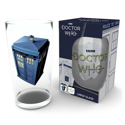 Doctor Who Large Glass