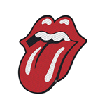 The Rolling Stones Standard Patch: Tongue Cut-Out (Retail Pack)