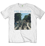 The Beatles Unisex Tee: Abbey Road & Logo (Retail Pack)