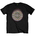 The Beatles Unisex Tee: Original Pepper Drum