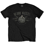 Muddy Waters Unisex Tee: Electric Blues Vintage