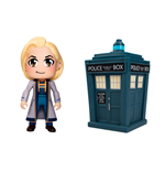 Doctor Who Titans Vinyl Figure 2-Pack 13th Doctor Kawaii & Tardis 8 cm