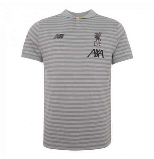 2019-2020 Liverpool Travel Polo Shirt (Grey) - Kids