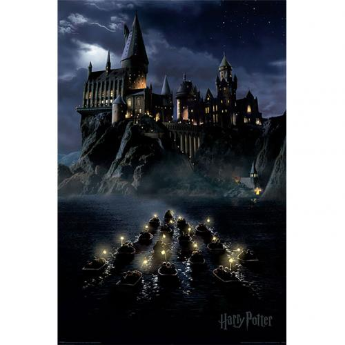 Harry Potter Poster Hogwarts Boats 258