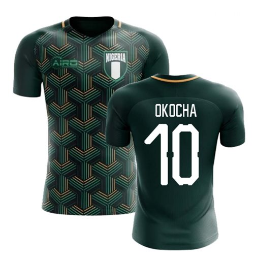 2018-2019 Nigeria Third Concept Football Shirt (Okocha 10) - Kids