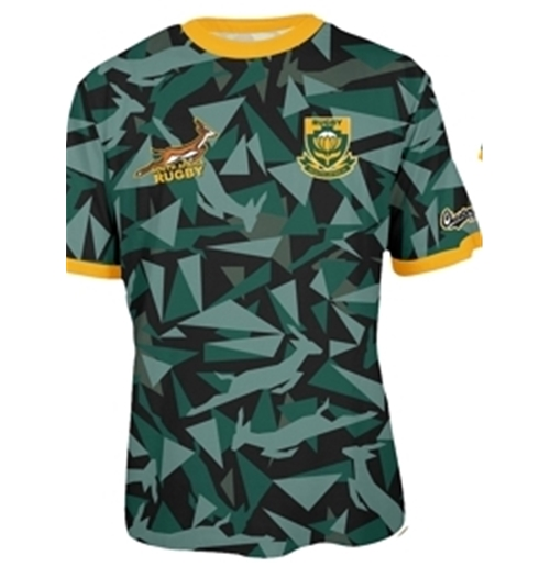 South Africa Rugby T-shirt Triangle