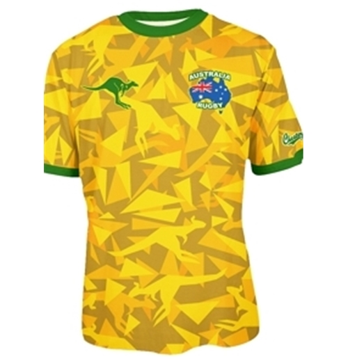 Australia Rugby T-shirt Triangle