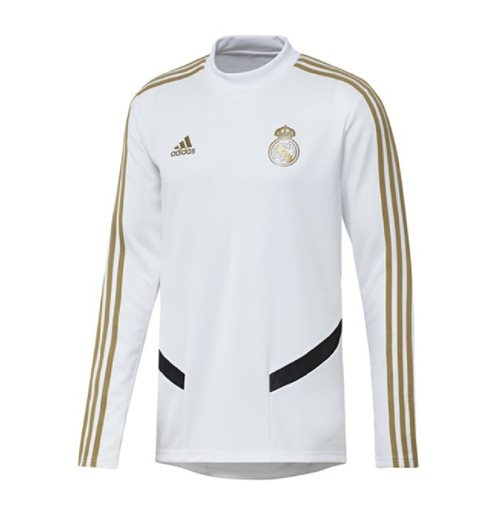 2019-2020 Real Madrid Adidas Training Top (White)