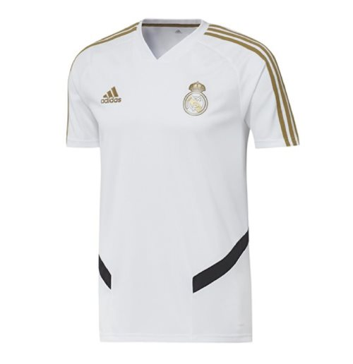 2019-2020 Real Madrid Adidas Training Shirt (White)