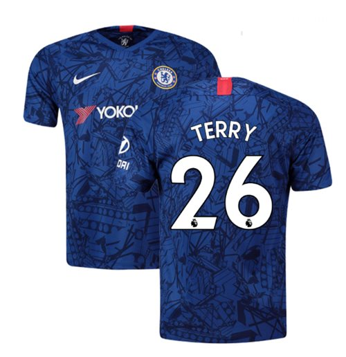 2019-20 Chelsea Home Shirt (Terry 26)