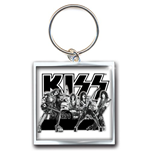 KISS Standard Keychain: Graphite Band