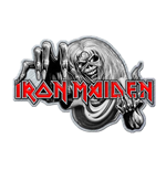 Iron Maiden Pin Badge: Number of the Beast