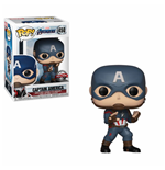 Avengers Endgame POP! Movies Vinyl Bobble-Head Figure Captain America Special Edition 9 cm