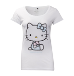 Hello Kitty - Women's T-shirt With Embroidery Details