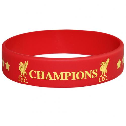 Liverpool F.C. Champions Of Europe Silicone Wristband