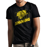 The Shining - Yellow Logo - Unisex T-shirt Black