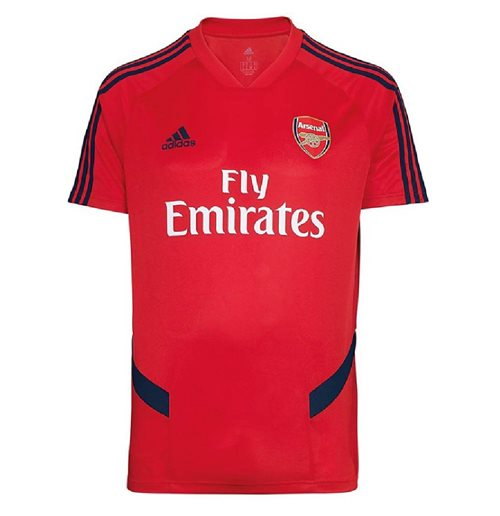 2019-2020 Arsenal Adidas Training Shirt (Red)