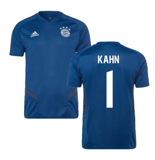 san francisco 2c517 2a958 2019-2020 Bayern Munich Adidas Training Shirt (Night Marine) (KAHN 1)