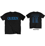 Queen Unisex Tee: The Game Tour (Back Print)