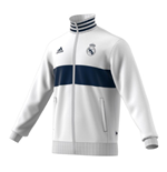 2019-2020 Real Madrid Adidas 3S Track Top (White)