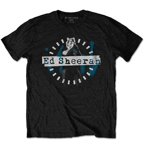 Ed Sheeran Unisex Tee: Dashed Stage Photo