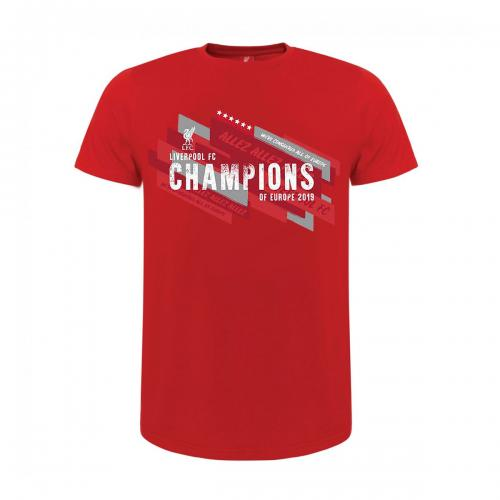 Liverpool F.C. Champions Of Europe T Shirt Junior 11/12