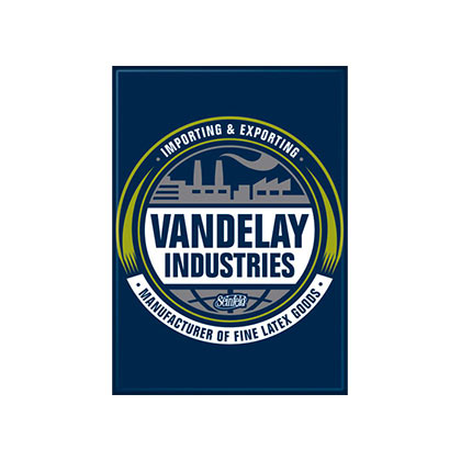 SEINFELD Vandelay Industries Blue Magnet