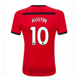 2018-2019 Southampton Home Football Shirt (Austin 10)