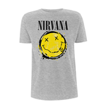 Nirvana T-shirt Smiley Splat