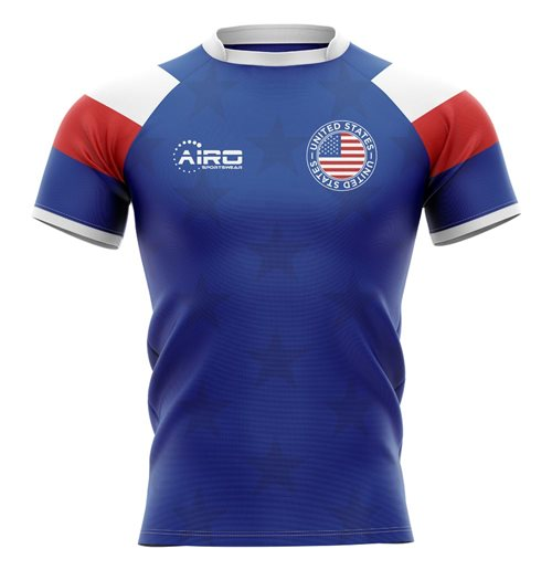 2019-2020 United States USA Home Concept Rugby Shirt - Kids
