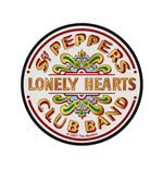 The Beatles Standard Patch: Sgt Pepper's Drum (Retail Pack)