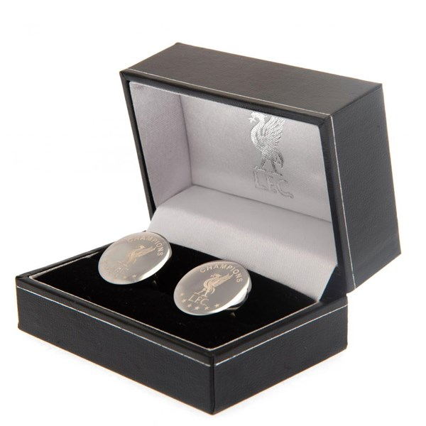 Liverpool F.C. Champions Of Europe Stainless Steel Cufflinks RD