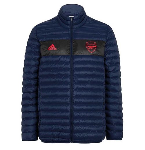 2019-2020 Arsenal Adidas Down Padded Jacket (Navy)