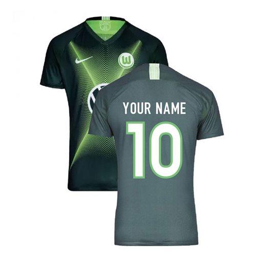 sports shoes 4238b 2b294 2019-2020 VFL Wolfsburg Home Nike Football Shirt (Your Name)