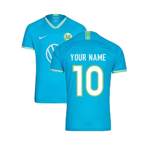 best loved 34db4 4a34a 2019-2020 VFL Wolfsburg Away Nike Football Shirt (Your Name)
