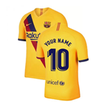 2019-2020 Barcelona Away Nike Football Shirt (Your Name)