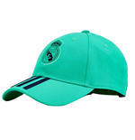 2019-2020 Real Madrid Adidas C40 Cap (Night Green)