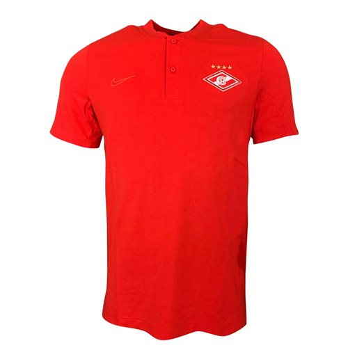 2019-2020 Spartak Moscow Nike Authentic Grand Slam Polo Shirt (Red)