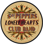 The Beatles Standard Patch: Vintage Sgt Pepper Drum