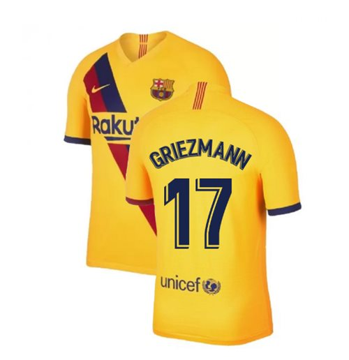 big sale e9ee5 9a02a 2019-2020 Barcelona Away Nike Football Shirt (Griezmann 17)