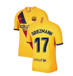 2019-2020 Barcelona Away Nike Football Shirt (Griezmann 17)