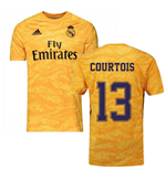 2019-2020 Real Madrid Adidas Home Goalkeeper Shirt (Courtois 13)