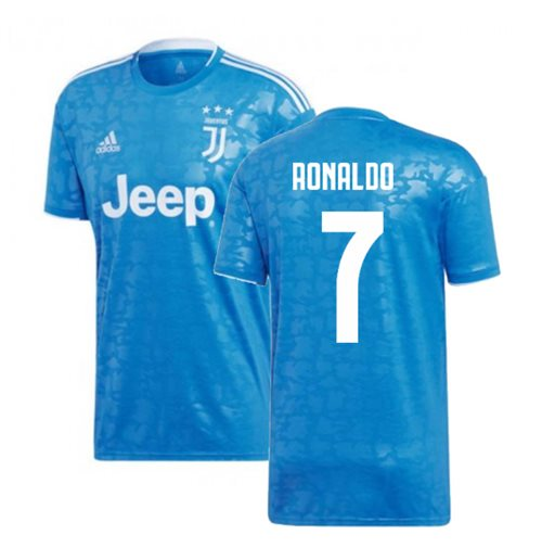 hot sale online 90729 d4bbe 2019-2020 Juventus Adidas Third Shirt (Kids) (Ronaldo 7)