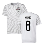 2019-2020 Egypt Away Puma Football Shirt (Hamed 8)