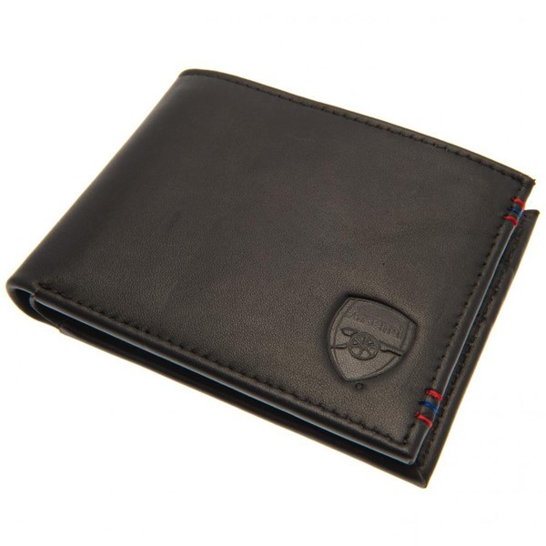Arsenal F.C. Leather Stitched Wallet