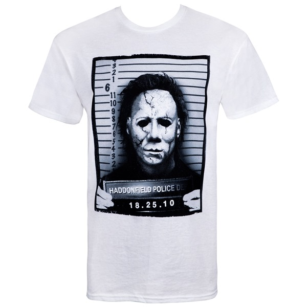 Halloween Mike Myers Mug Shot T-Shirt