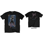 David Bowie Unisex Tee: 83' Tour (Back Print)
