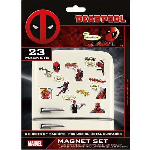 Deadpool Fridge Magnet Set